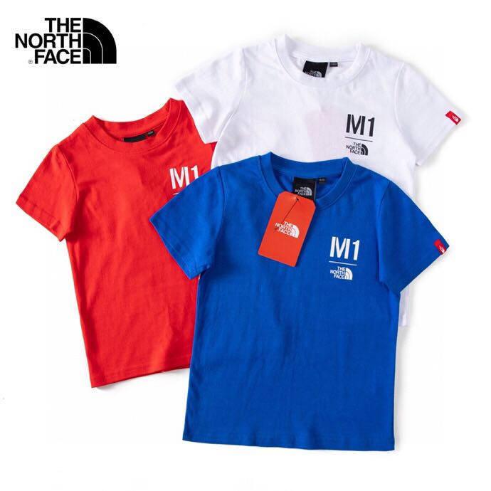 韩国订单北面童装圆领T恤,20件起批